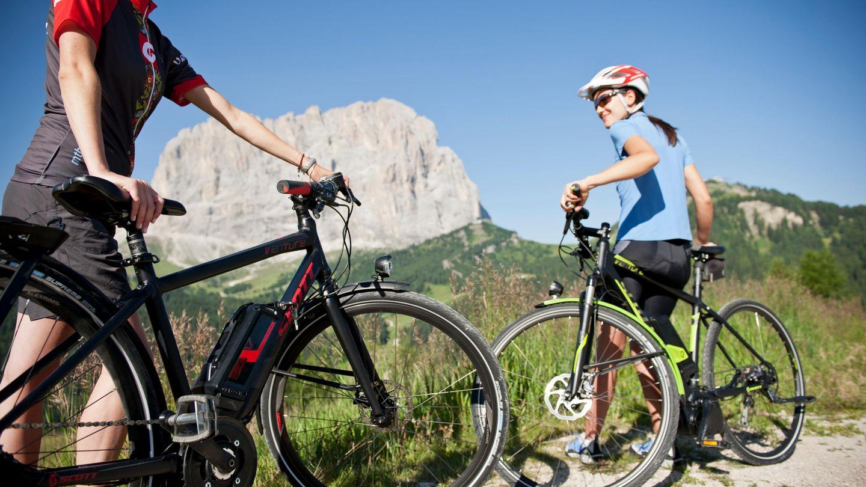 Mountain Bike-Urlaub in den Dolomiten