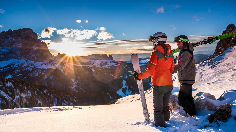 Winterspaß in Gröden - Dolomiten